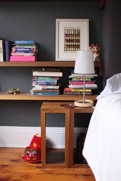 lovely to keep good books in your bedroom