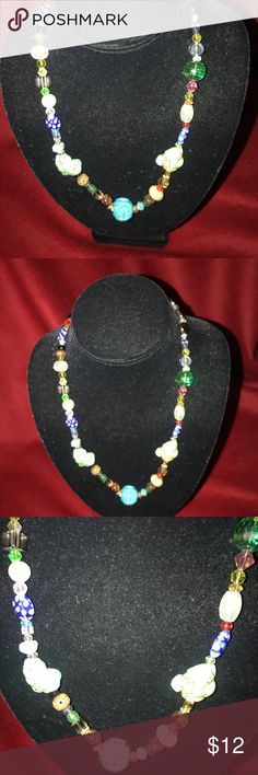 Specialty necklace Beautiful special key necklace anywhere Beads and stones. Handmade nyads Jewelry Bracelets