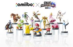 @Nintendo #amiibo is the Near-Field Communication (NFC) system which will be used in many #WiiU and #3DS games -starting with Smash Bros and Mario Kart 8- allowing you to play with this figures collection!