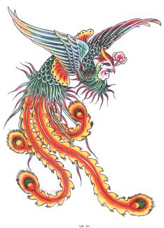 Lovely Chinese phoenix.