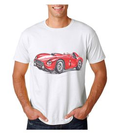 Ferrari 1954 375 Classic Motorsport T Shirt by uniquetshirtsuk Movie Shirts, Sweater Making, Being Ugly, Ferrari, Cool Outfits, Trending Outfits, Unisex, Classic, Cotton
