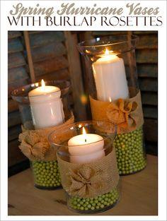 vasi con candele