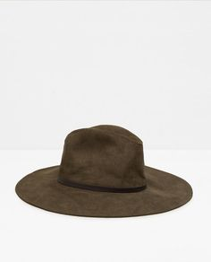 Image 1 of WIDE BRIMMED HAT from Zara