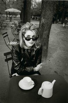 Классика портретной фотографии Жанлу Сьеффа (Jeanloup Sieff)