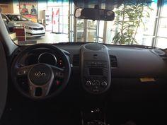 inside peek of #Kia
