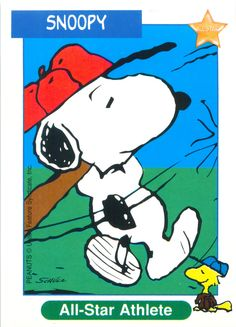 Peanuts MetLife All Star Cards - Snoopy | Flickr - Photo Sharing!
