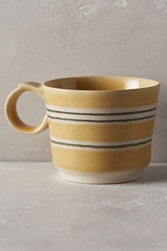 Picnic Stripe Mug - anthropologie.com