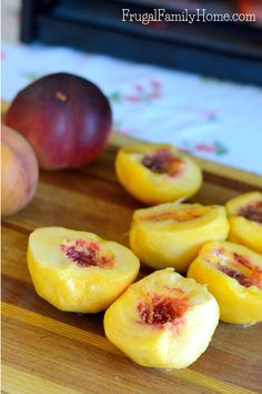 How to Perfectly Dry Peaches at Home - Frugal Family Home