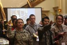 Army showcases STEM for local high school students Downtown San Antonio, High School Students, Army, American, News, Gi Joe, College Guys, Military, Armies