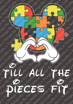 Mickey Autism SVG by CraftsnThingsByNelly on Etsy