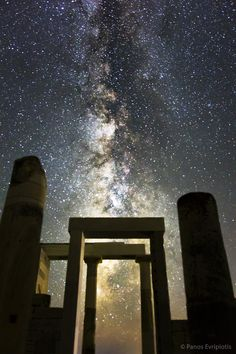 Night Sky from Naxos island, Greece ! Wish upon stars