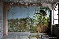 'Clinique des sources. Mur qui tousse n'amasse pas mousse.' by Fallowsite