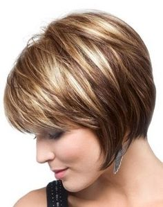 highlights for short brown hair 2015 - Google Search