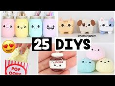 (3) MAKING 25 AMAZING DIY Slimes, Squishies & Room Decor COMPILATION! - YouTube