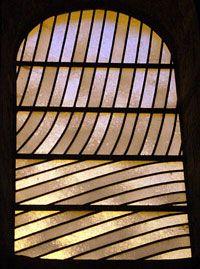 Pierre Soulages, Abbaye de Conques, Vitrail, 1987-1994