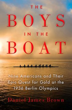"""This story of the University of Washington 8 man crew competing at the 1936 Olympics is one of the best pieces of nonfiction I've read ever! Even though you know how the story ends, author Daniel Brown builds suspense like a master mystery writer! The """"characters"""" are all folks you can admire and yet, each is completely human. I didn't want this one to end! Don't miss it!"""