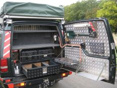 well organised #LandRover Discovery 300tdi