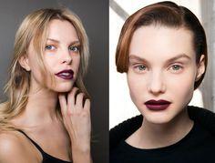 Prune, violet, noir, rouges sombres, bruns… les rouges à lèvres foncés ne vont pas nous quitter cet automne/hiver ! Découvrez les astuces de notre experte...