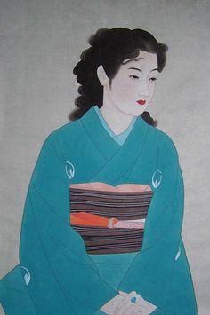 Nihon-ga painting. Ito Shinsui