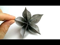 "If you are trying to look for ""How to make Origami flower Carambola Carmen"", you are watching the right video. Throughout this ""Origami Flower Tutorial"" vide. Paper Origami Flowers, Origami Flowers Tutorial, How To Make Paper Flowers, Origami Butterfly, Paper Crafts Origami, Origami Instructions, Origami Stars, Diy Flowers, Origami Design"