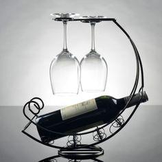 Decorativo-rojo-vino-Rack-Botella-Holder-Bar-Home-Corsair-Shape-vino-Rack-Storage