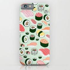 Buy Sushi Love iPhone & iPod Case by Kristin Nohe. Worldwide shipping available at Society6.com. Just one of millions of high quality products available.