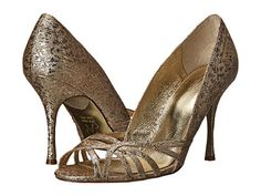 Adrianna Papell Fallon Platino Foil Sleek - Zappos.com Free Shipping BOTH Ways