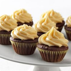 Ghirardelli Baking: Mini Chocolate Cupcakes with Pumpkin Frosting Recipe  Impressive Results Worth Sharing. Bake with Ghirardelli.