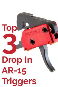Upgrade your AR-15 with one of these popular drop in triggers. These triggers are quick and easy to install. A new trigger can help you improve your precision shooting at the range. Whether you're searching for a single stage or two stage trigger you're sure to find one that will meet your needs.