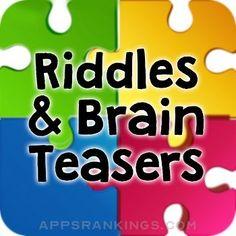 Riddles & Best Brain Teasers App Reviews & Download - Entertainment App Rankings! Future Teller, Best Brain Teasers, Best Riddle, Pop Up Ads, Palm Reading, Palmistry, Free Fun, Best Apps, Married Life