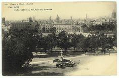 Vista desde el Palacio de Ripalda,  Valencia
