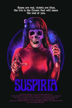 New Poster for the Re-Release of Horror Classic 'Suspiria'