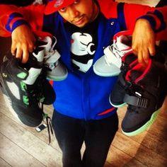 Chris's Aj5 Yeezy on SneakerWare