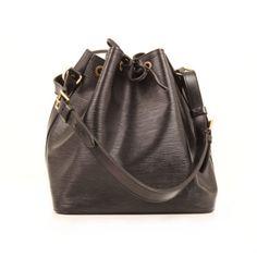 4eacaf1a8b03 Louis Vuitton Noé Black Épi Leather