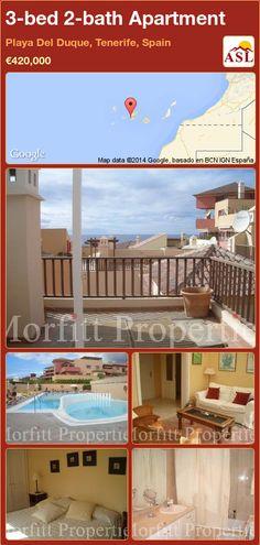 3-bed 2-bath Apartment in Playa Del Duque, Tenerife, Spain ►€420,000 #PropertyForSaleInSpain