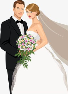 The bride and groom's wedding material vector painted embrace Vector and PNG Wedding Drawing, Wedding Dress Sketches, Wedding Art, Wedding Album, Wedding Images, Wedding Groom, Wedding Couples, Wedding Pictures, Wedding Illustration