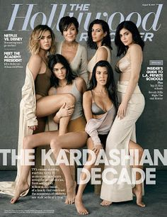 The Kardashian Decade  The Hollywood Reporter's cover story The Kardashian Decadeis filled with gems. Scroll down to see the cover of the magazine. I don't like how Rob was left off the cover but he most likely didn't want to be included. It's hard to believe that the Kardashian's reality series launched 10 years ago. The family has provided a blueprint for longevity.  The Kardashian Jenner family has mastered entertainment launching numerous successful brands and apps. Keeping Up With The…