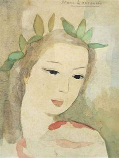 Marie Laurencin, Fille au feuillage