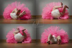 Ballerina in action...
