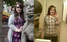 How she went from dumpy to rocking a bikini.
