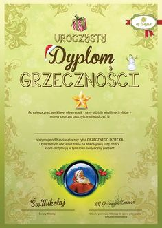 List od Mikolaja wraz z dyplomem Grzeczności Christmas 2019, Merry Christmas, Diy And Crafts, Crafts For Kids, Creative Activities, Mood, Education, Children, Speech Language Therapy