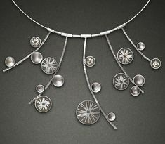 Carla Pennie Jewelry Design – Necklaces – Silver Star Bangers