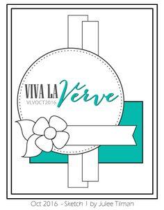 Viva la Verve Sketches: Viva La Verve October Sketch 1 Recap and Viewfinder