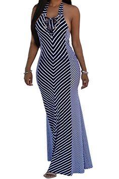 shekiss Sexy Women Summer Maxi Stripe Stretch Bodycon Par... https://www.amazon.com/dp/B01GMRIKYW/ref=cm_sw_r_pi_dp_x_U6kPxb0MVKSAB