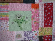 Baby Clothes Quilt from Simplify and Quilt