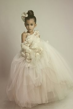Krikor Jabotian Fall/Winter 2013 Bridal Collection Couture flower girl