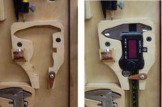 CUSTOM TOOL HOLDERS - by tyvekboy @ LumberJocks.com ~ woodworking community