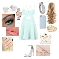 """""""Untitled #108"""" by tiffany-london-1 ❤ liked on Polyvore featuring Stuart Weitzman, Isaac Mizrahi, Kenneth Cole, Mikimoto, Michael Kors, River Island, M.N.G and Salvatore Ferragamo"""