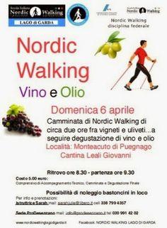 FIT Nordic Walking: percorsi di benessere - Brescia - Vallesabbia - Lago di Garda Nordic Walking, South Africa, Health Fitness, Events, Fitness, Health And Fitness