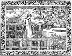 from the works of geoffrey chaucer now newly imprinted hammersmith william morris at the geoffrey chaucercoloring bookscolouringcoloring
